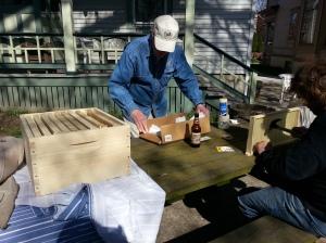 Beehive building