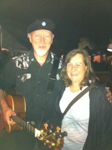 Richard Thompson and Debby Waldman